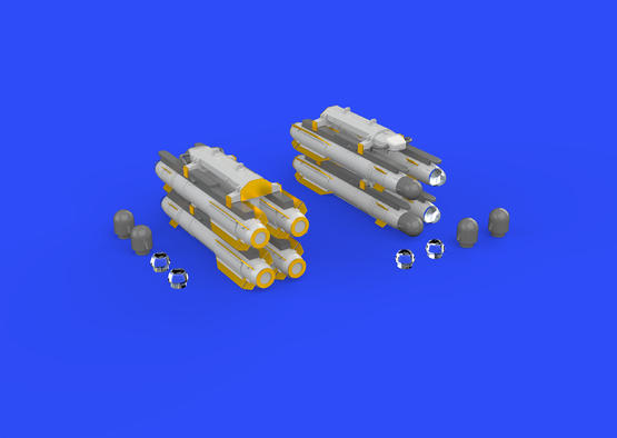 AGM-114 Hellfire 1/48  - 4