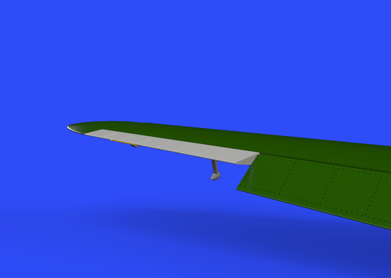 Bf 109F control surfaces 1/48  - 4