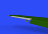 Bf 109F control surfaces 1/48 - 4/6