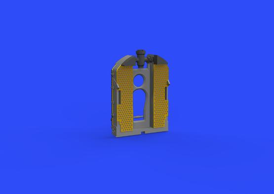 SE.5a radiator - Wolseley Viper 1/48  - 4