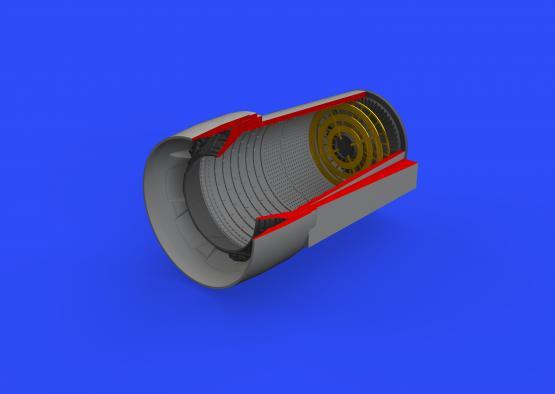 Crusader exhaust nozzle  1/48 1/48  - 4