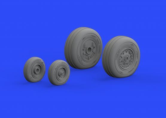 F-4J wheels 1/48  - 4