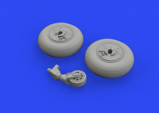 Ki-61-Id wheels 1/48  - 4