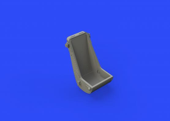 Bf 109F seat early 1/48  - 4