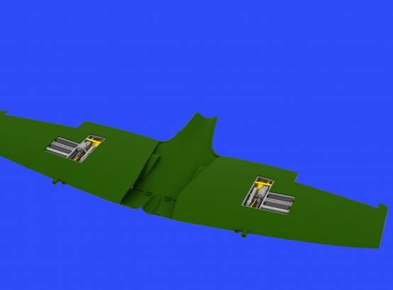Spitfire Mk.IXe gun bays 1/48  - 4