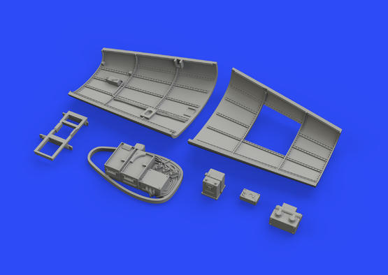 Bf 109F radio compartment 1/48  - 4