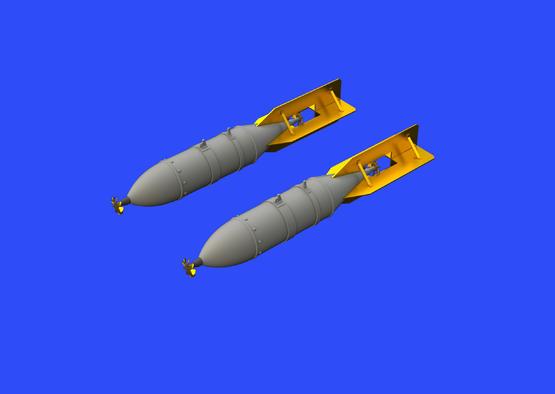 FAB 250 Soviet WWII bombs 1/48  - 4