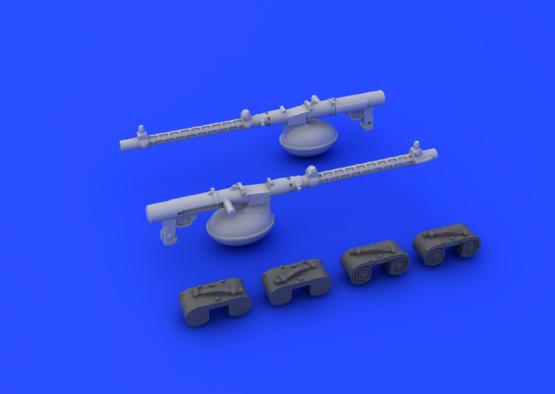 MG 15 kulomet 1/72  - 4