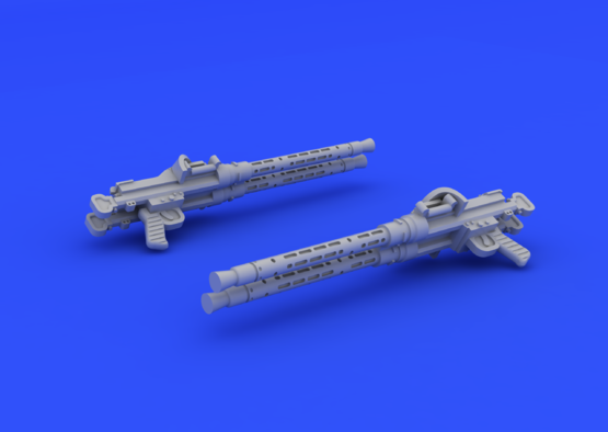 MG 81Z gun 1/72  - 4