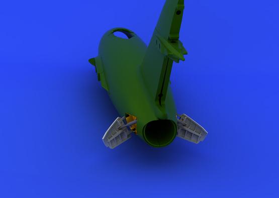 MiG-15bis airbrakes 1/72  - 4
