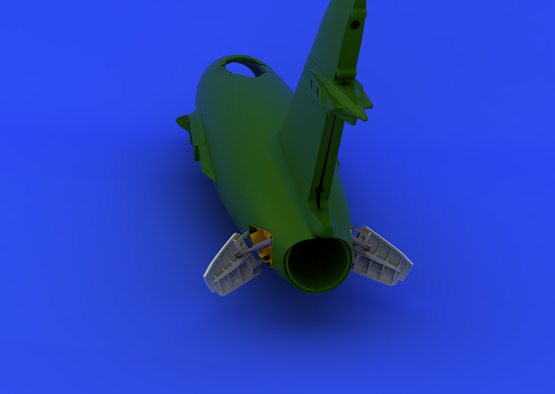MiG-15bis スピードブレー キ 1/72  - 4