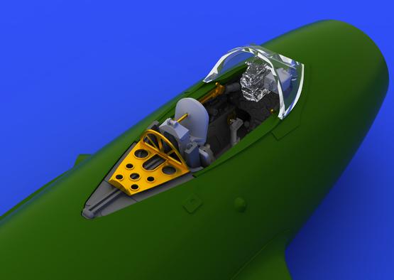 MiG-15 cockpit 1/72  - 4