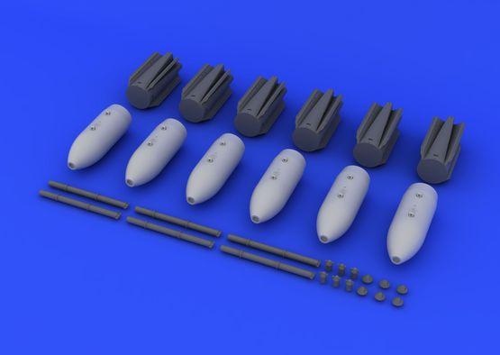 M117 bombs w/airbrake 1/72  - 4