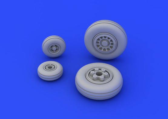 JAS-39 wheels 1/72  - 4