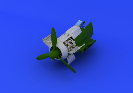 Fw 190A-8 engine 1/72  - 4