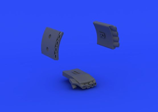 Fw 190A exhaust stacks 1/72  - 4
