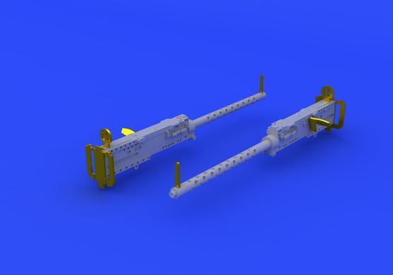 M-2 ブローニング 機関銃  1/72  - 4