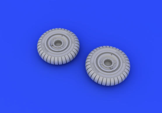 Fw 190A wheels early 1/72  - 4