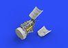 Fw 190A-5 fuselage guns 1/72 - 3/6