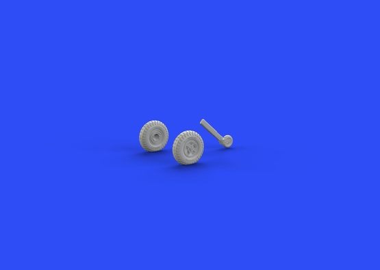Spitfire Mk.IX wheels 5 spoke, w/pattern 1/72  - 4