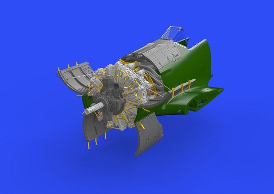 Fw 190A-5 engine 1/72  - 4