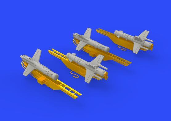 Falanga 9M17P rakety 1/72  - 4
