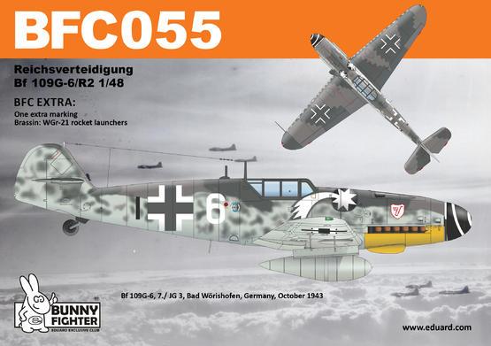 Reichsverteidigung Bf 109G-6 1/48  - 4