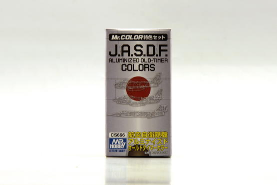 Mr.Color - J.A.S.D.F. Aluminized Old-Timer 3x10ml  - 4