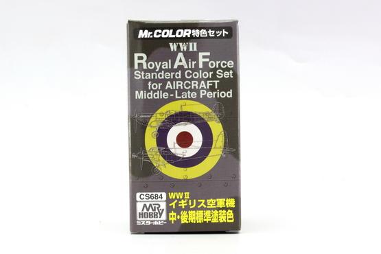 Mr.Color - RAF 2.sv.v pozdní verze - sada barev  - 4