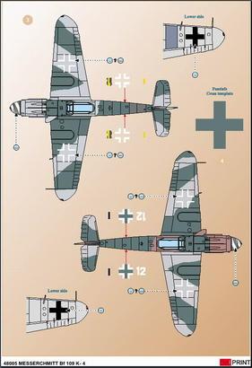 Me 109 K-4 1/32  - 4