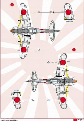 B-29 Hunters 1/72  - 4