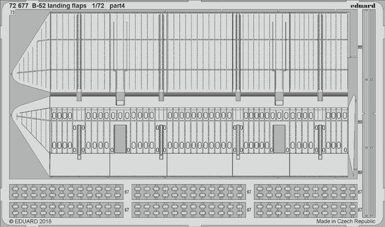 B-52 vztlakové klapky 1/72  - 4
