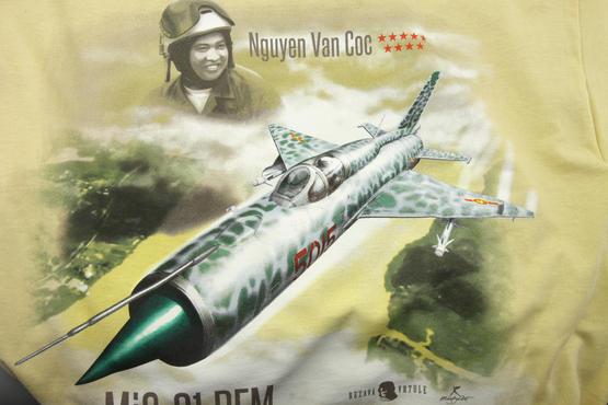 T-shirt MiG-21PFM (XXXL) - Rezavá Vrtule  - 4