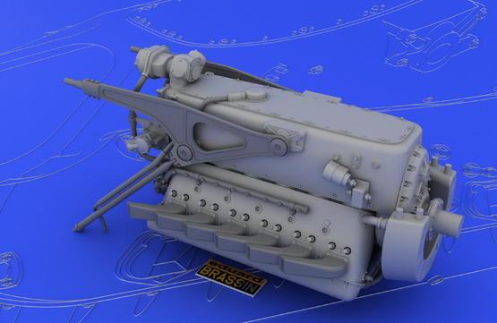 DB 601A/N engine  1/32 1/32  - 5