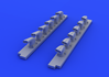 Bf 109G-6 exhaust stacks 1/32 - 5/5