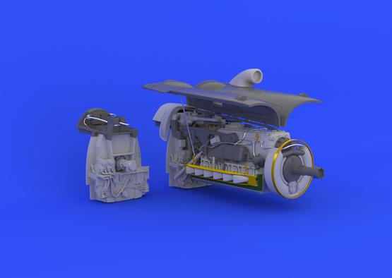 Bf 109G-6 engine  1/32 1/32  - 5