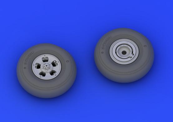 Spitfire Mk.I/II wheels 1/32  - 5