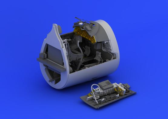 F4U-1 cockpit 1/32  - 5