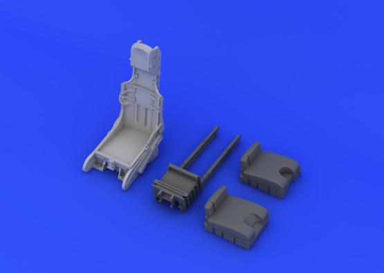 F-104 C2 катапультируемое кресло 1/32  - 5