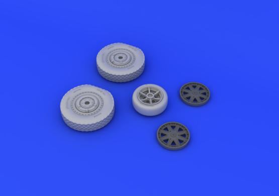 P-39 wheels late  1/32 1/32  - 5