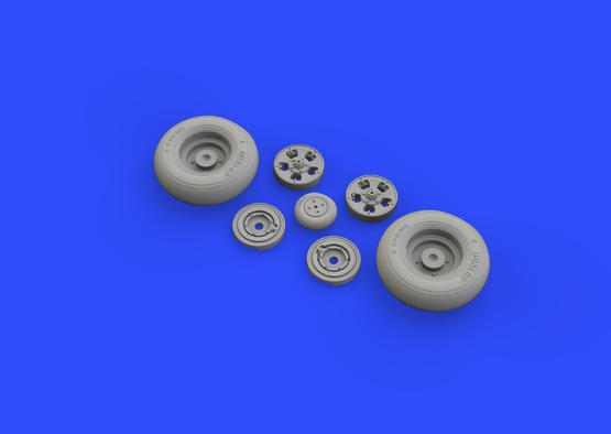 Spitfire Mk.IX wheels - 5 spoke 1/32  - 5
