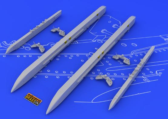 Su-25K wing pylons 1/48  - 5