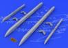 Su-25K wing pylons 1/48 - 5/6