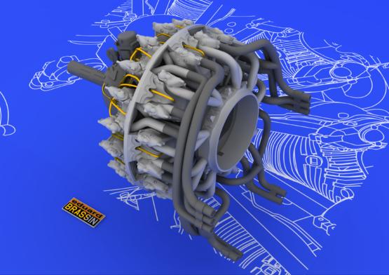 R-2800-10 engine 1/48  - 5