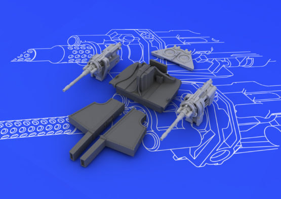 MG 131 mount for Fw 190D-9 1/48  - 5