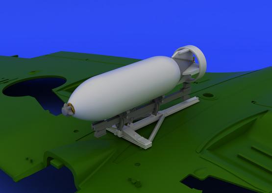 Spitfire sada bomb 500lb 1/48  - 5