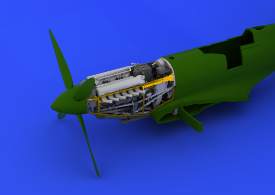 Spitfire Mk.IX motor 1/48  - 5