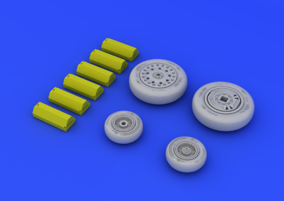 F-4B/N wheels 1/48  - 5