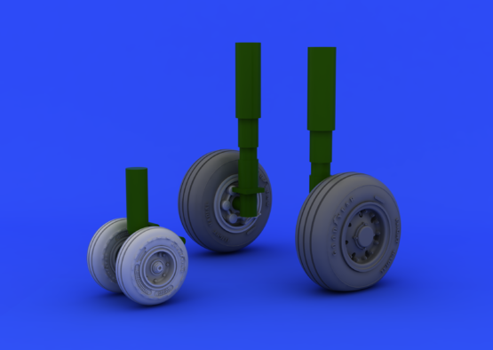 Tornado IDS wheels 1/48  - 5