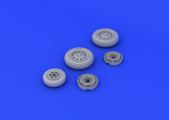 F-104 undercarriage wheels early 1/48  - 5